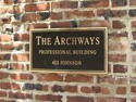 The Archways Professional Building Signage